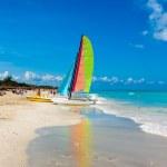 The famous beach of Varadero in Cuba — Stock Photo #15831691
