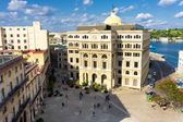 The Square of San Francisco in Old Havana — Stock Photo