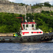 Tugboat in the bay of Havana - Foto de Stock
