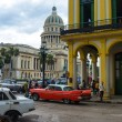 And traffic near the Capitol in Havana — Stock Photo #16354773
