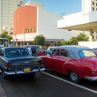 And traffic in downtown Havana — Foto de Stock