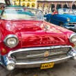 Shiny red 1957 Buick in Havana — Stock Photo