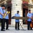 Traditional music group playing in Old Havana — Stock Photo #18939037