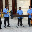 Traditional music group playing in Old Havana — Stock Photo #18939039