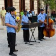 Traditional music group playing in Old Havana — Stock Photo #18939043