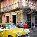 Постер, плакат: Old Buick in Santiago de Cuba