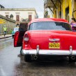 Classic american car in Old Havana — Stock Photo #20782317