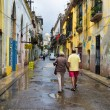 Cuban in an old neighborhood in Havana — Stock Photo #20782697