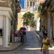 Stock Photo: Typical street in Old Havana