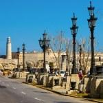 El Paseo del Prado, a famous street in Havana — Stock Photo #21219899