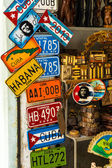 Souvenirs for sale in Havana — Stock Photo