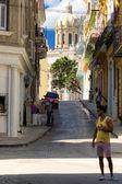 Calles de la habana vieja — Foto de Stock