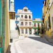 Stock Photo: Sunny street in Old Havanon beautiful day