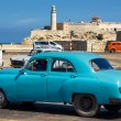 Vintage car in Havana — Stock fotografie