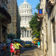 And traffic near the Capitol in Havana — Stock Photo #23485023