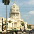And traffic near the Capitol in Havana — Stock Photo #24119013
