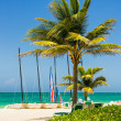 The tropical beach of Varadero in Cuba — Stock Photo #25853777