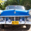 Front view of an old convertible Ford in Havana — Stok fotoğraf
