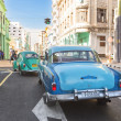 Classic vintage car in a street in Havana — Stock Photo