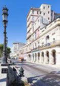 The boulevard of El Prado in Havana — Stock Photo