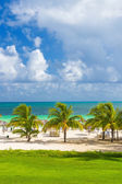 Tropical resort at the beach of Coco Key in Cuba — Stock Photo