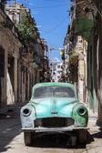 Rusty and broken old car abandoned in Havana — Stock Photo