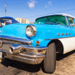 Classic Buick in the Revolution Square in Havana — Zdjęcie stockowe