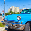 Classic Buick in the Revolution Square in Havana — Stock Photo #35925753