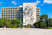 De che guevara monument in havana — Stockfoto