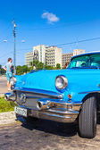 Classic Buick in the Revolution Square in Havana — Stock Photo