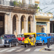 Old american cars in Havana — 图库照片
