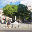 The famous boulevard of El Prado in Havana — Foto de Stock
