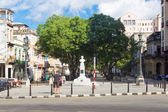 The famous boulevard of El Prado in Havana — Stock Photo