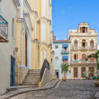 Small El Angel square in Old Havana — Stock Photo #36782893