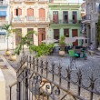 Small El Angel square in Old Havana — Stock Photo #36782911