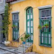 Colorful traditional house in Old Havana — Stock Photo