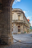 Colonial buildings in Old Havana — Stock Photo