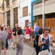 Tourists visiting LBodeguitdel Medio in Havana — ストック写真 #39463447