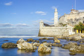 The fortress of El Morro in the bay of Havana — Stock Photo