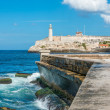 Stock Photo: Castle of El Morro in Havana