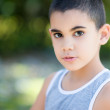 Portrait of a latin child — Stock Photo
