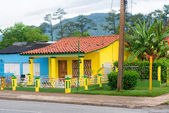 House offering rooms for rent at Vinales in Cuba — Stock Photo