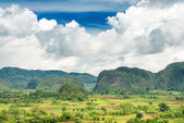 Scenic view of the Vinales Valley in Cuba — Stock Photo