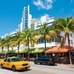 ������, ������: Art Deco architecture at Ocean Drive in South Beach Miami