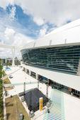 The Miami Marlins stadium in Miami — Stock Photo