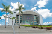 The American Airlines Arena, home of the Miami Heat — Stock Photo