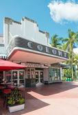 The Colony Theatre in Miami Beach — Stock Photo