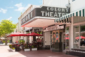 The Colony Theatre in Miami Beach — Stock Photo