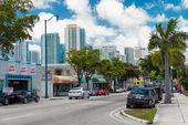 8th street in Little Havana, Miami — Stock Photo