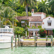 Luxurious mansion on Star Island in Miami — Stock Photo #48262787